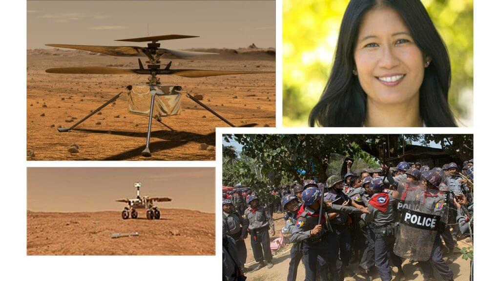 While Myanmar burns, an engineer leads Humanity in Space