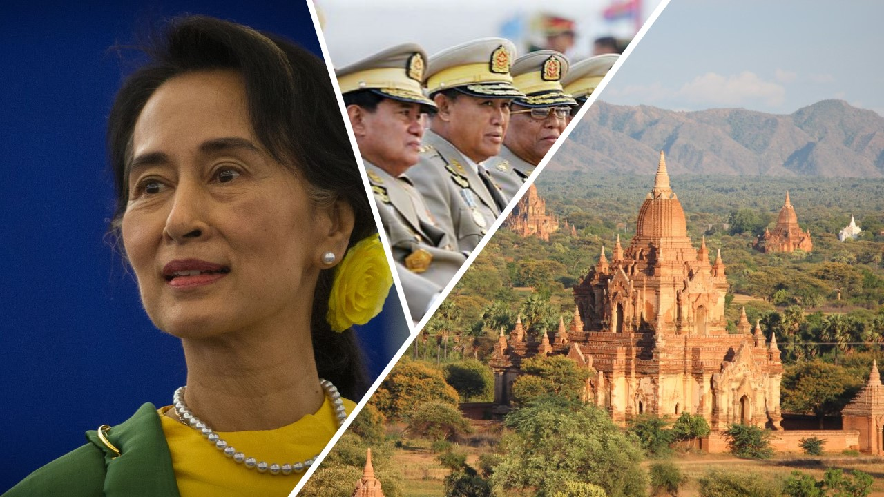 myanmar military aung san suu kyi