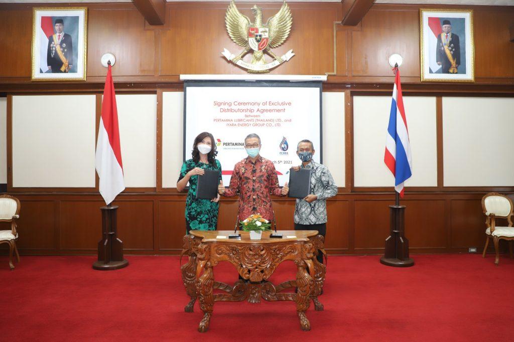 Pertamina expands presence in Thailand