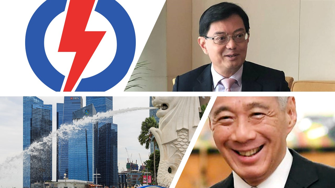 PM Lee heng swee keat singapore People action part