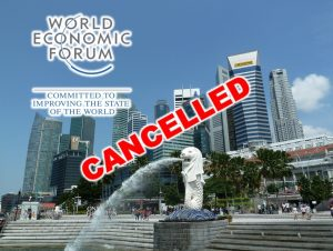 WEF cancels Singapore event