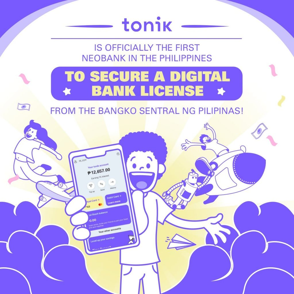 Singapore Fintech Tonik is Philippines first private neobank