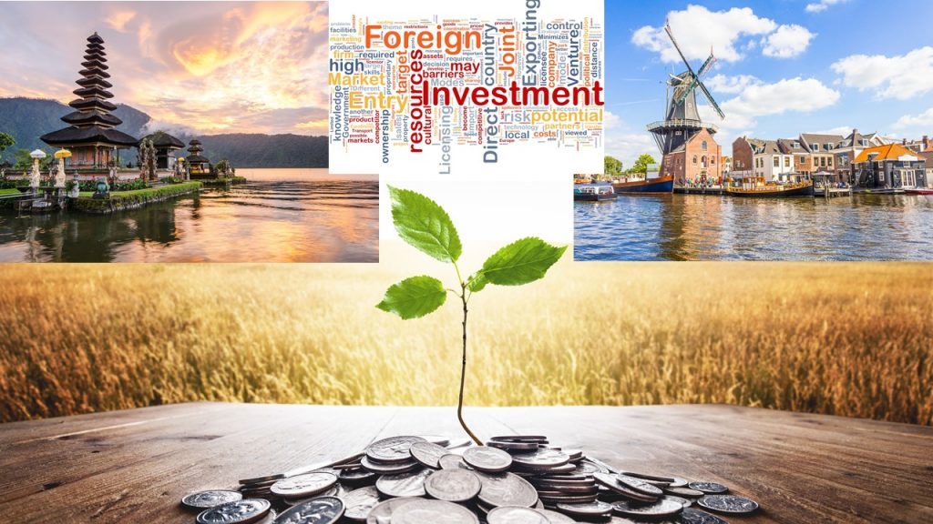 Netherlands is now the third largest investments contributor to Indonesia