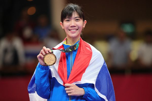 Pint-sized Panipak brings home Thailand's first gold from Tokyo