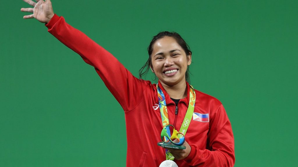 Weightlifter Hidilyn Diaz wins first Olympic gold for the Philippines