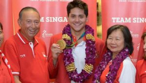 Joseph Schooling's Father Diagnosed with Cancer