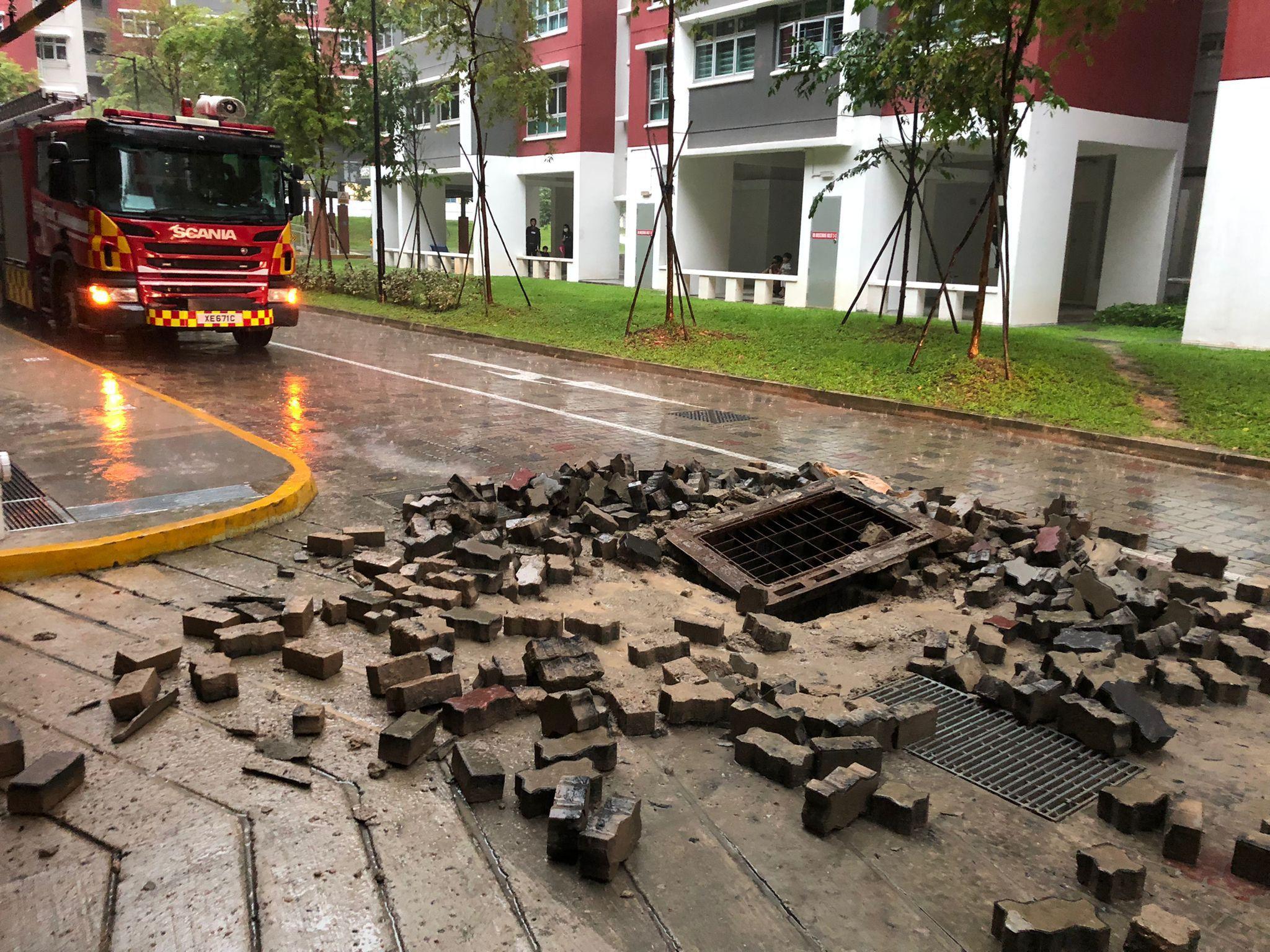 Singapore Explosion SCDF